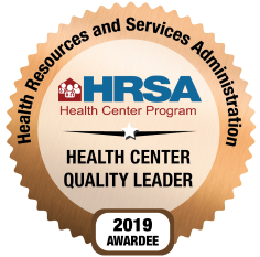 HRSA badge/sticker